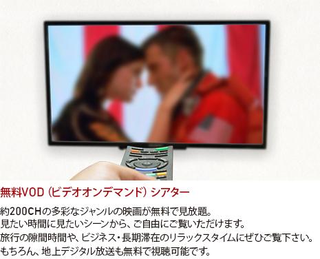 無料VOD(ビデオオンデマンド)シアター
